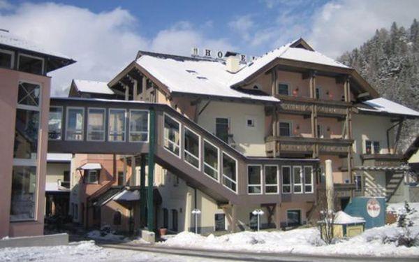 Rakousko, oblast Korutany, polopenze, ubytování v 3* hotelu na 8 dní