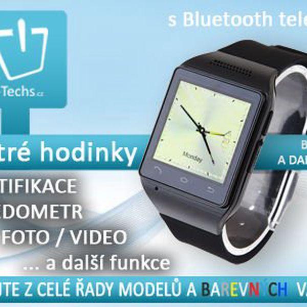 Chytré hodinky: SmartWatch s Bluetooth a dalšími funkcemi