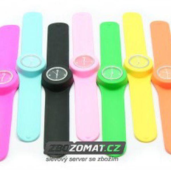 Módní silikonové hodinky Slap v nejrůznějších barvách!