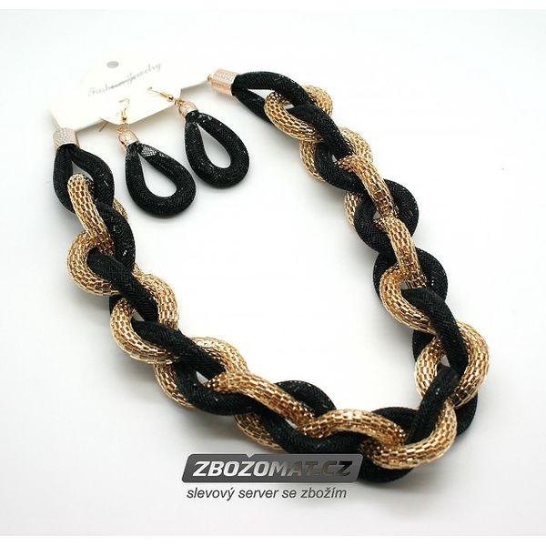 Set náhrdelníku a náušnic Glitter Chain!