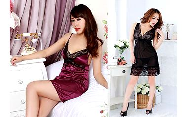 Sexy dámské noční prádlo i s kalhotkami!