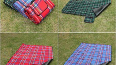 Deka na piknik s nepromokavou spodní vrstvou - 3 barvy a poštovné ZDARMA! - 9999904548