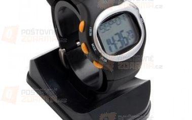 Hodinky s měřením pulsu Sporttester (pulsmetr) 6 funkcí a poštovné ZDARMA! - 9999901241