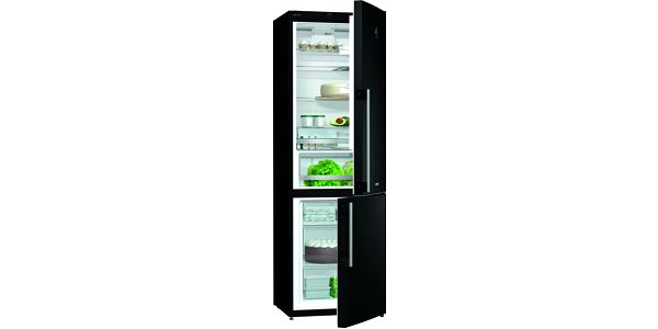 Černá kombinovaná chladnička Gorenje RK 61 FSY2B