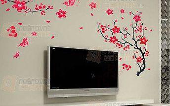 Dekorace na zeď - strom s květinami a poštovné ZDARMA! - 9999907579