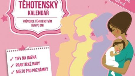Těhotenský kalendář, 13,5 x 11 cm
