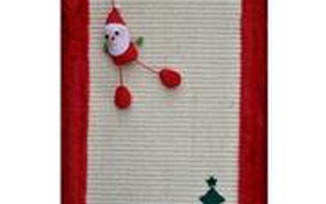 Trixie Vánoční škrábací deska pro kočku s hračkou 55 x 35 cm