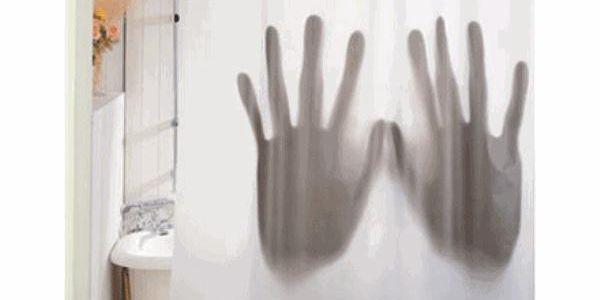 Sprchový závěs Scary Movie - originál pro vaši koupelnu!