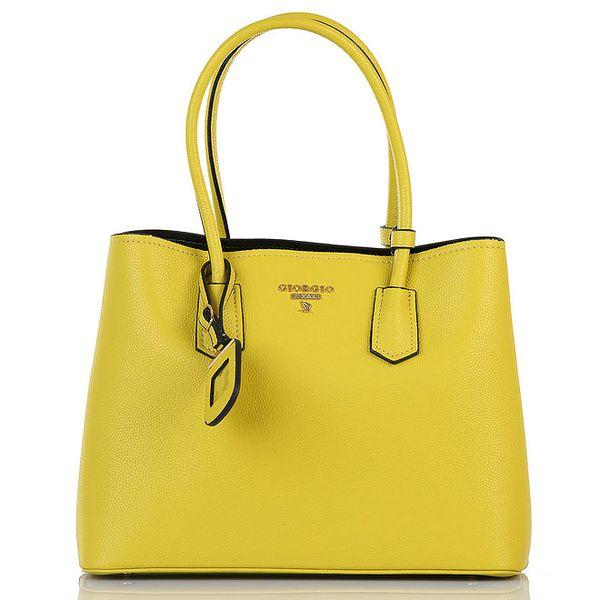 Dámská žlutá kabelka Giorgio di Mare