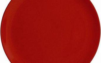 Servírovací talíř červený, 32 cm, Ambition