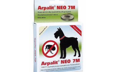 Aveflor Arpalit Neo 7M obojek antiparazitární 66cm, pro psy