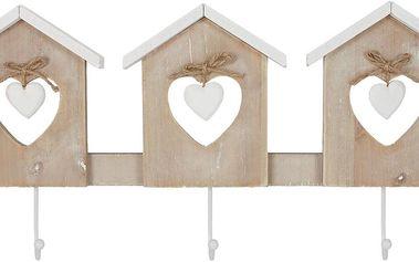 Dekorativní dřevěný věšák Autronic