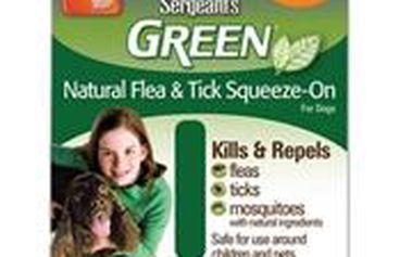 Účinná ochrana před parazity a hmyzem Sergeanťs Green spot on pro psy 12-30kg 3x5ml