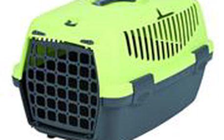Trixie Transportní box CAPRI I. 32x31x48cm max.do 6kg tmavě šedá/světle zelená