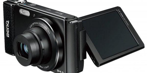 Digitální kompakt BENQ G1 Black + originální kožené retro pouzdro ZDARMA!