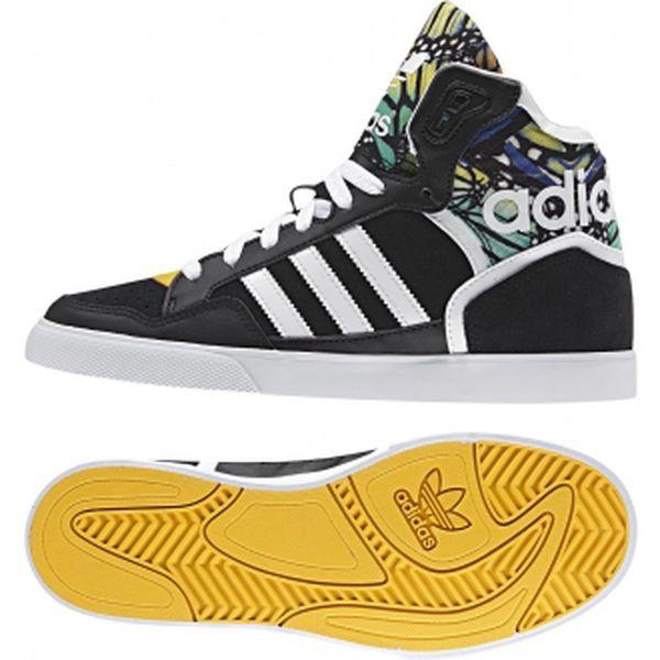Módní kotníčková obuv Adidas Originals EXTABALL W