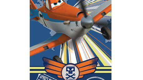 Chlapecká fleecová deka (100x150cm) - Letadla