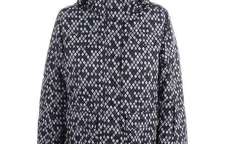 Dámská zimní bunda s károvaným vzorem Joluvi