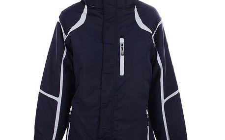 Dámská modro-bílá lyžařská bunda Joluvi