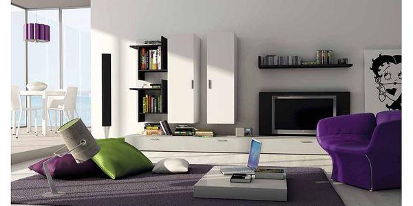 Italská obývací stěna Fizzy 13