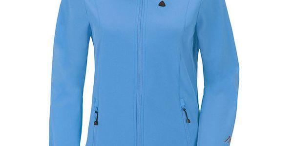 Dámská modrá softshellová bunda Maier