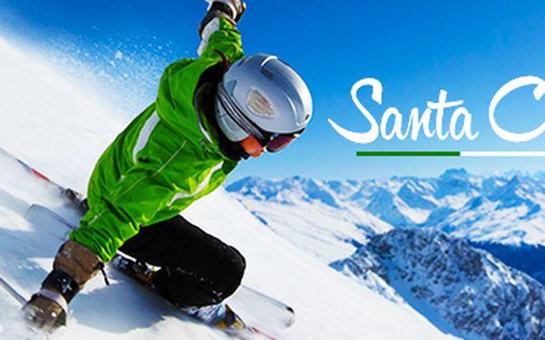 Alpy na 5 - 6 dní: ubytování, polopenze i SKIPAS v ceně, platnost do dubna 2015!