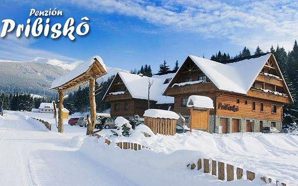 Zimní pobyt v roháčském penzionu Pribiskô