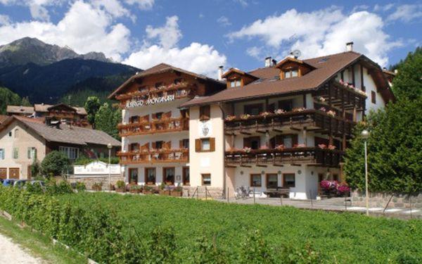 Itálie, oblast Val di Fiemme/Obereggen, polopenze, ubytování v 3* hotelu na 6 dní