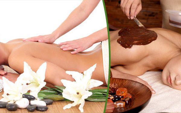 60 minutová relaxační masáž celého těla dle výběru