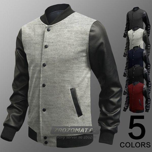 Pánská lehká bunda Fashion v několika barevných variantách!