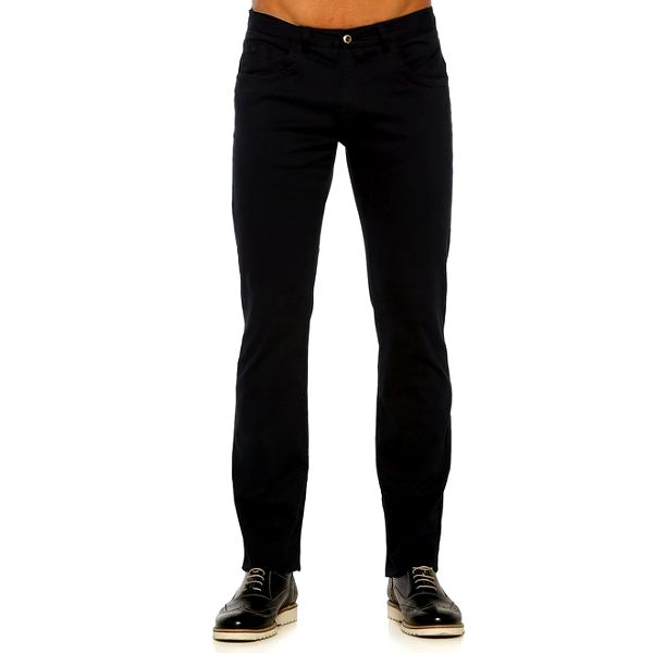 Pánské tmavomodré kalhoty Galvanni