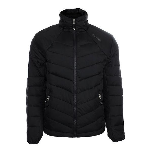 Pánská černá péřová bunda Trimm