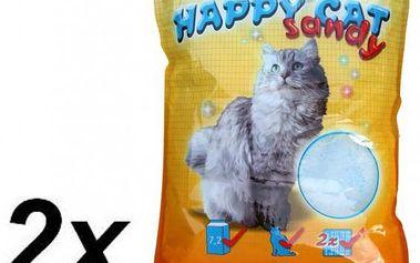 Akinu stelivo HAPPY CAT 2 x 7,2 l Sandy