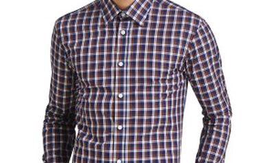 Pánská kostkovaná slim fit košile značky Lambert
