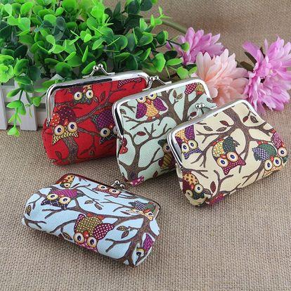 Dámská mini peněženka s motivem soviček