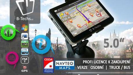 """5"""" GPS navigace s aktualizací map již od 1449 Kč! S dodáním do 2 dnů!"""
