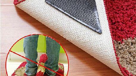 Protiskluzové podložky pod koberec - 4 kusy v balení