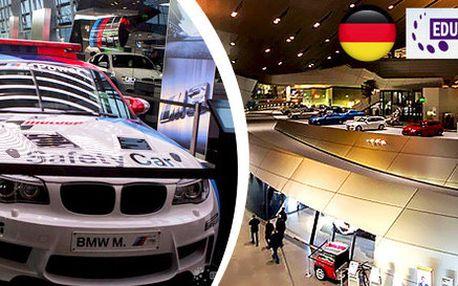 Celodenní výlet do výroby BMW v Mnichově