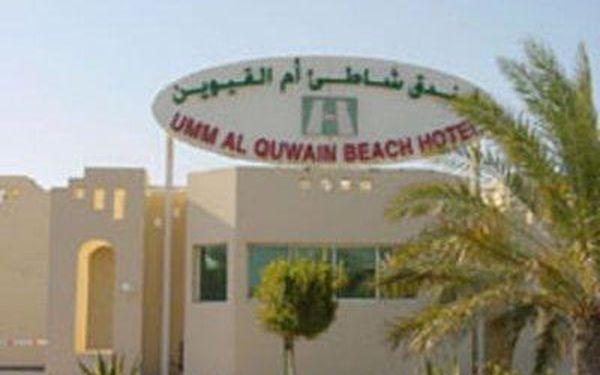 Umm Al Quwain Beach Hotel, Umm Al Quwain, Spojené arabské emiráty, letecky, snídaně v ceně