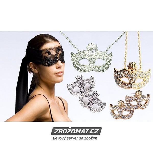 Šperky Padesát odstínů šedi - náušnice, náhrdelník a prstýnek!