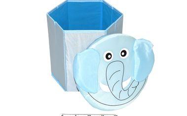 Skládací úložný box v podobě zvířátek