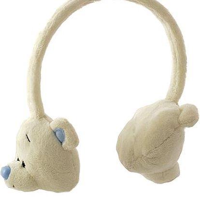 Klapky na uši My Blue Nose Friends Klapky na uši polární medvěd Chalky