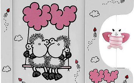 Fotorámeček Sheepworld Fotorámeček s figurkou Lovecloud, Sheepworld