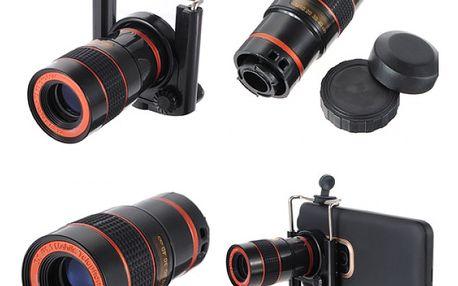 Objektiv pro mobilní telefon - 8x optický zoom