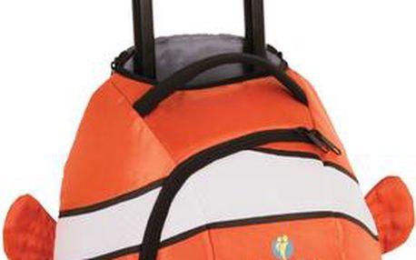 Zábavný cestovní kufřík Animal Wheelie Duffle Ryba