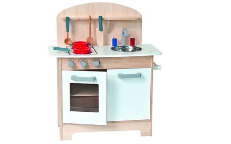 Kuchyňka s příslušenstvím bílá Sylvia