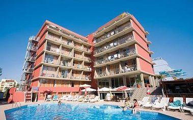 Bulharsko, oblast Slunečné Pobřeží, letecky, snídaně, ubytování v 3,5* hotelu na 8 dní