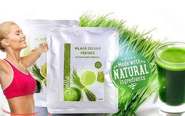 Nejúčinnější přírodní antioxidanty! Balení 200g ZELENÉ MLADÉ PŠENICE nebo ZELENÉHO MLADÉHO JEČMENE!