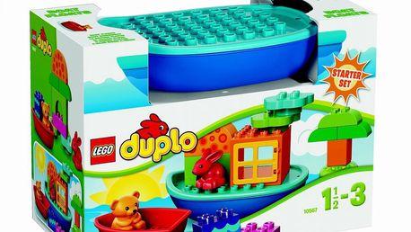 LEGO DUPLO Kostičky - Sada pro batolata - Postav si loďku