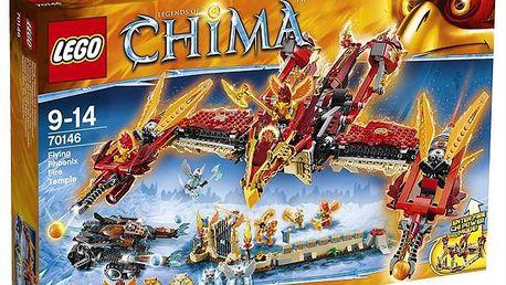 LEGO CHIMA - herní sady - Létající ohnivý chrám Fénix
